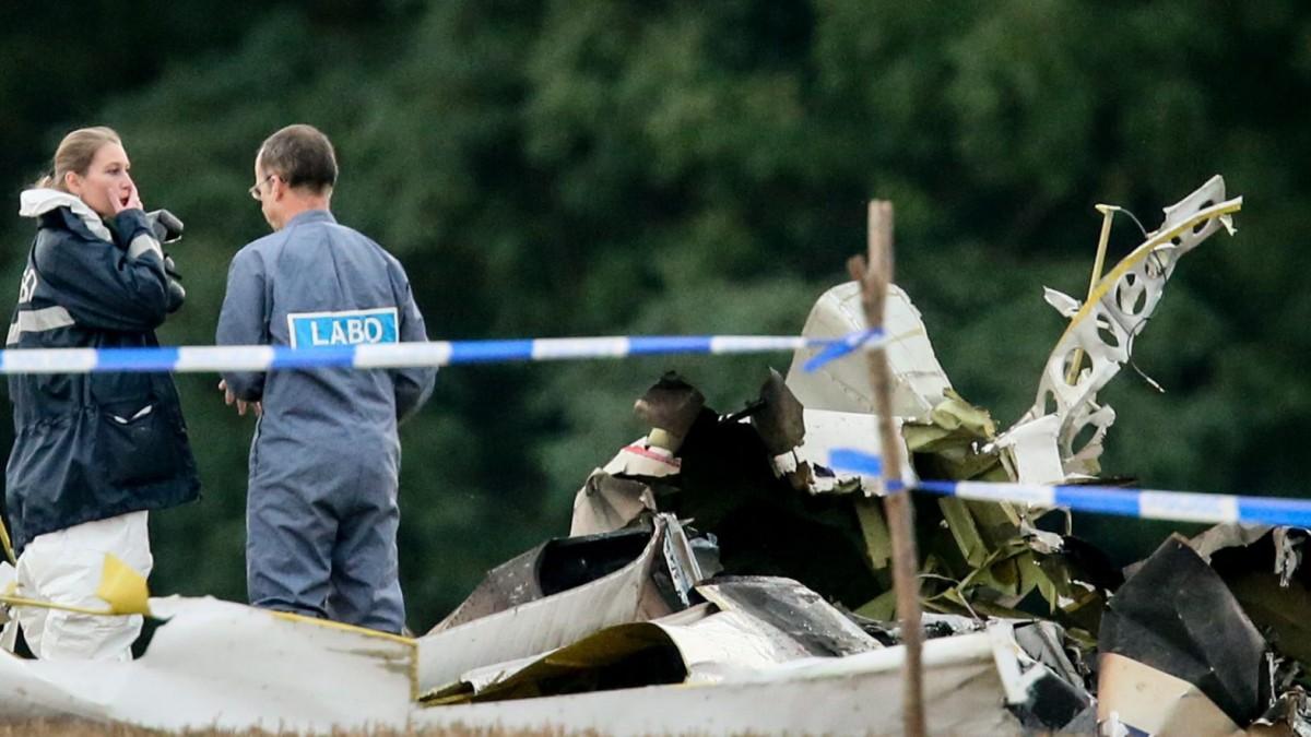 Abgestürztes Flugzeug schon einmal verunglückt
