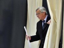 Parlamentswahl in Luxemburg: Regierungschef Jean-Claude Juncker