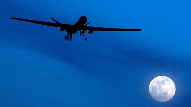 Predator, eine US-Drohne in Afghanistan