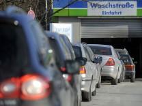Waschstraße, Autowäsche, Waschanlage, ADAC