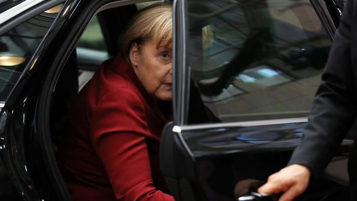 Kanzlerin Merkel EU-Gipfel Brüssel