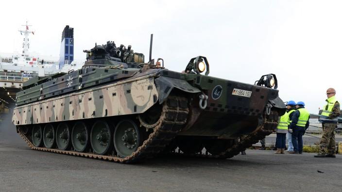 Bundeswehr Ships Equipment Back From Afghanistan Deployment