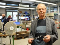 Josef Steingruber nimmt am Bundesfreiwilligendienst teil