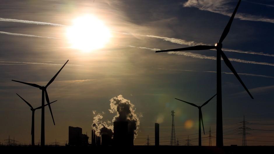 RWE Welle von Kraftwerksabschaltungen