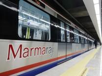 Marmaray, Zug, Bosporus, Tunnel, Istanbul