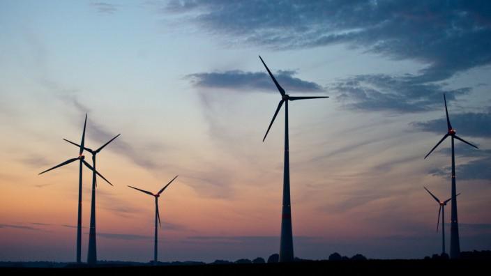 Windkraftanlagen in Brandenburg