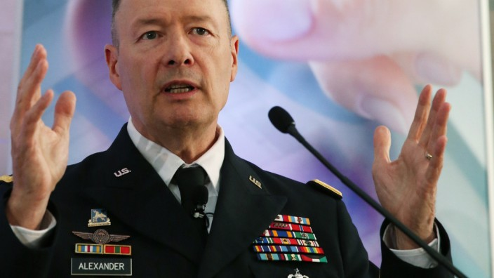 NSA Director Keith Alexander Discusses Cybersecurity