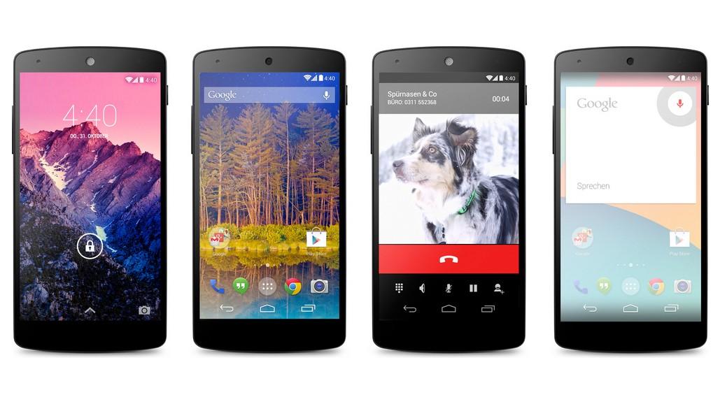 Google beginnt mit Verkauf von Nexus 5