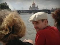 Edward Snowden in Moskau