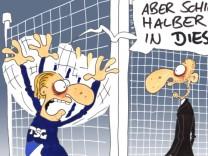 Fußball Bundesliga Hoffenheim Bayern Comic