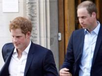 Prinzen William und Harry
