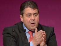 Landesparteitag Berlin SPD Sigmar Gabriel