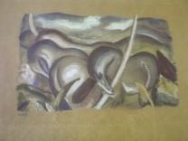 Franz Marc Pferde in Landschaften Nazi-Raubkunst