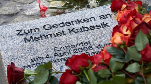 Gedenkstein für NSU-Opfer in Dortmund