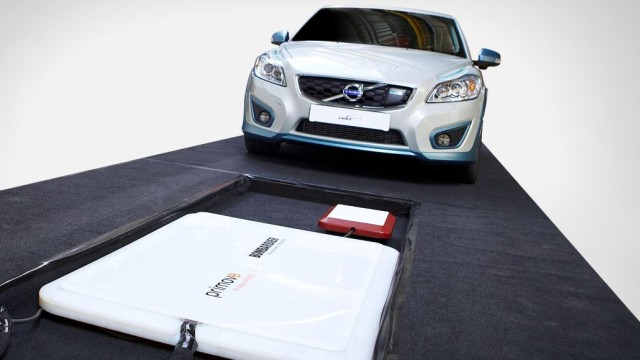 Volvo, Elektroauto, Induktion