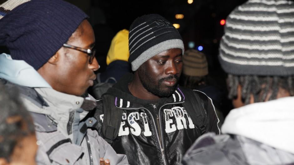 Flüchtlinge in Bayern Ende des Streiks