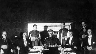 Unterzeichnung des Konkordats zwischen dem Deutschen Reich und dem Vatikan, 1933