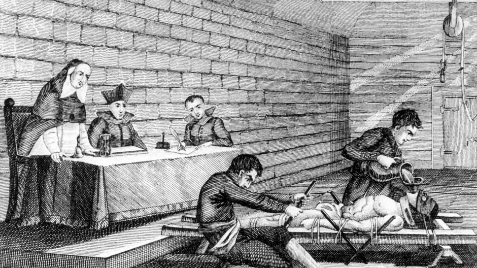 Folter unter den Augen der Inquisition