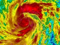 Super-Taifun Haiyan Wirbelsturm
