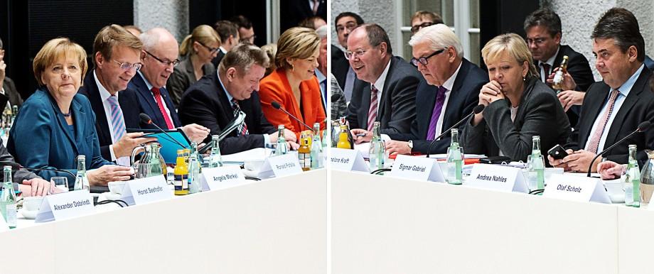 Koalitionsverhandlungen - Inneres und Justiz