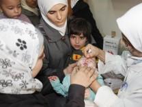 Polio-Impfung Damaskus Syrien