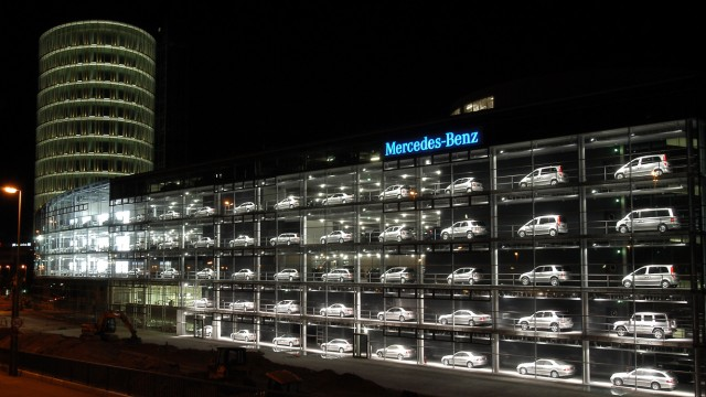 Neuer Daimler-Bau in München