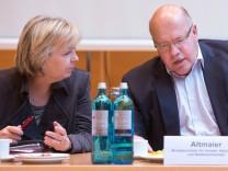 Peter Altmaier Hannelore Kraft Koalitionsverhandlungen