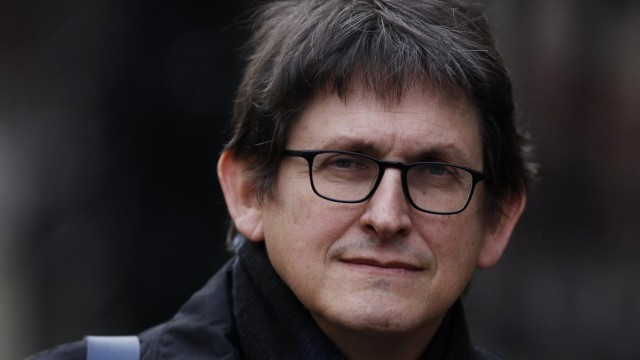 File photo of Alan Rusbridger, the editor of the Guardian, arriving to give evidence at the Leveson Inquiry into the culture, practices and ethics of the media, in central London