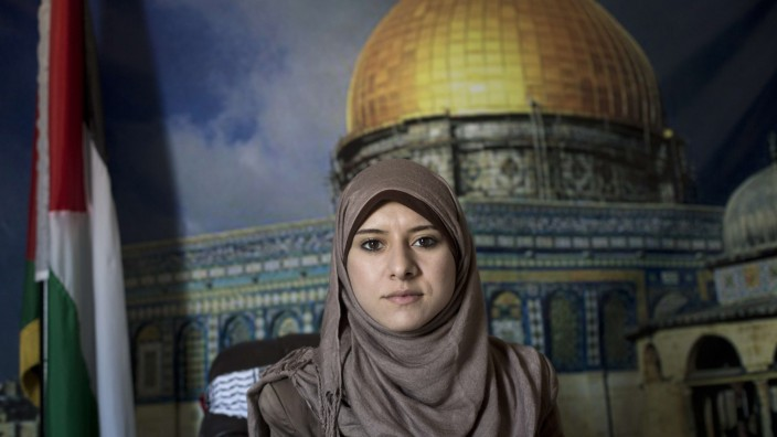 Isra al Mudallal Hamas Sprecherin