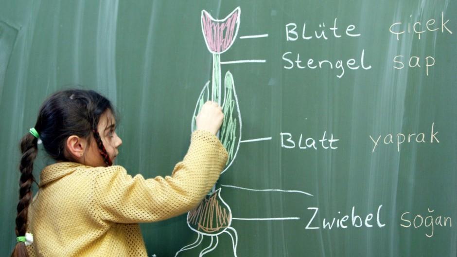 Schule mit deutsch-türkischer Klasse in Hannover