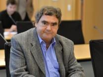 Siegfried Mundlos vor dem NSU-Untersuchungsausschuss in Erfurt.