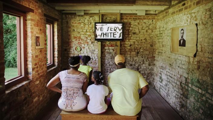 South Carolina USA Boone Hall Plantation Charleston Sklavenhaus