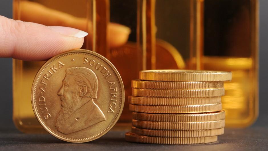 Goldpreis steigt seit Monaten