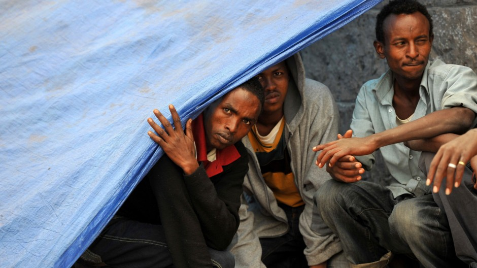 African refugees in Yemen
