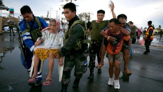 **BESTPIX**  Relief Efforts Continue After Typhoon Haiyan's Destruction