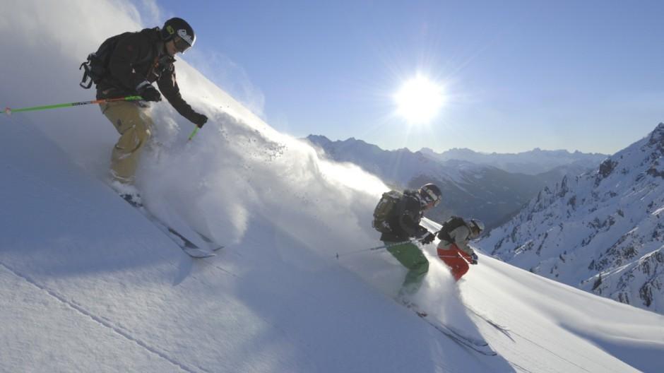 St. Anton am Arlberg Skifahren