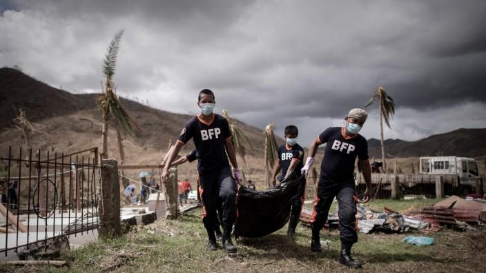 "Opfer des Taifun ""Haiyan"""