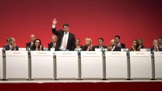 SPD SPD-Parteitag in Leipzig