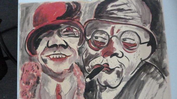 Works of art from the Gurlitt collection
