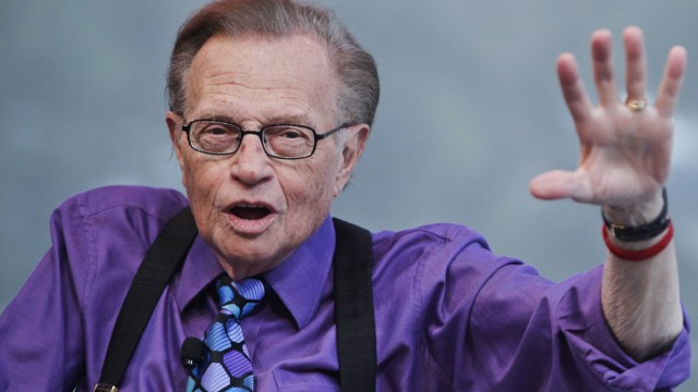 Larry King turns 80 years of age.