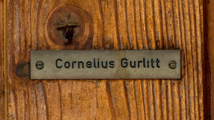 The House Of Art Collector Cornelius Gurlitt In Salzburg