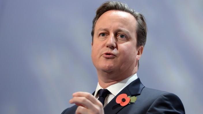 Großbritanniens Premier Cameron