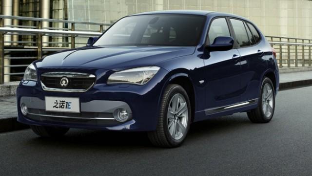 BMW und chinesischer Partner stellen Elektroauto Zinoro vor