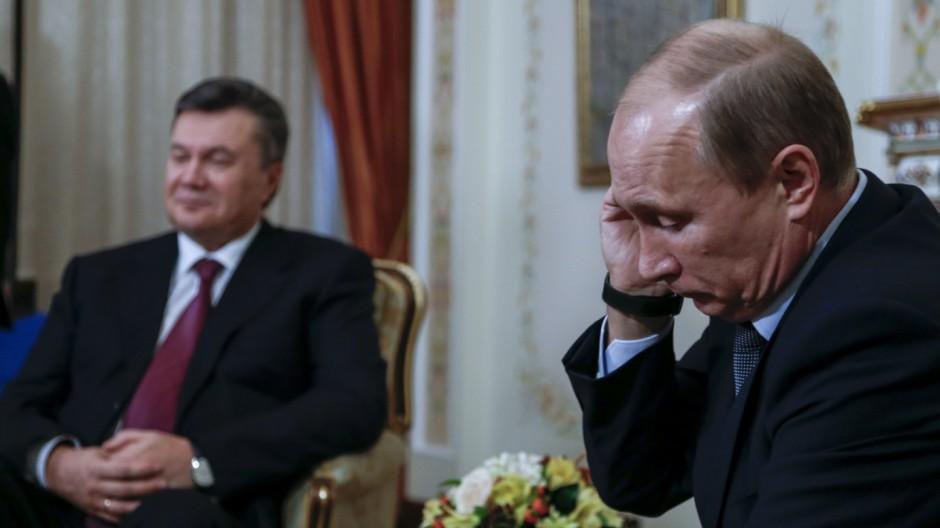 Wladimir Putin Gescheitertes EU-Abkommen