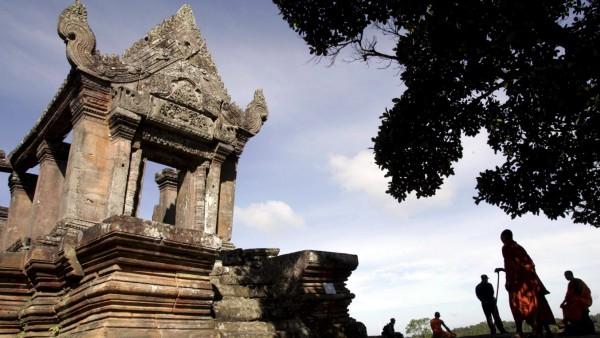 Preah Vihear Kambodscha Tempel Mönche