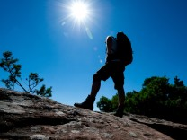 Wanderer Berge Urlaub Tourismus Slow Tourism