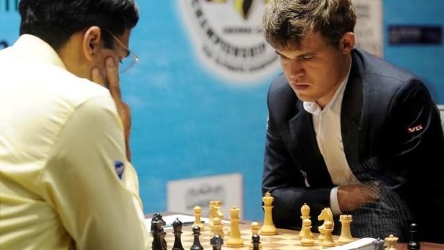 Schach-WM Schachspieler Magnus Carlsen