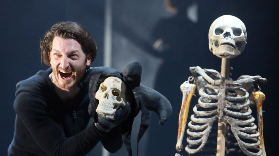 Probe zu 'Hamlet' am Berliner Ensemble