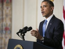 US President Barack Obama conference about Iranian nuclear power