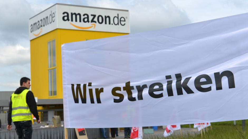 Streiks bei Amazon im Advent